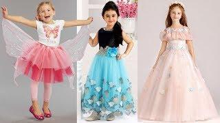 Little Girl Fancy Dress 2018 | Cute Girl Fancy Frock Design Photos | New Frock Design