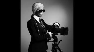 Adelina Pestrițu, tribut inedit pentru Karl Lagerfeld! Cum s-a transformat bruneta în celebrul desig