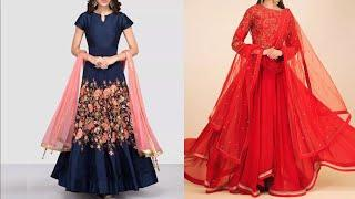 Party wear collection | New fashion Anarkali Suit design images / photos collection 2018
