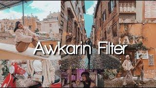 TUTORIAL FEED INSTAGRAM SELEBGRAM AWKARIN (FILTER TERBARUUU!!)