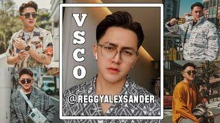 Edit Foto Ala Selebgram @reggyalexsander Menggunakan VSCO X Fullpack