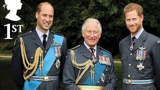 Prince Charles joins William & Harry in never-before-seen photo