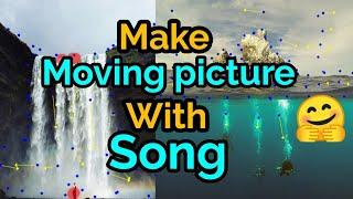 How to Animate a Still Photo Like a plotagraph in Motion Picture| Whatsapp status video