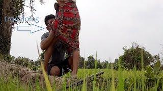 Farmer Morning Sweet In Beautiful Place Women&man In UTube Film