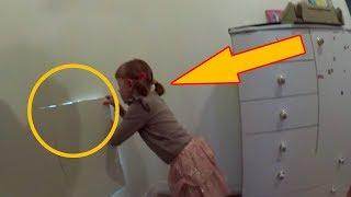 Little Girl Finds A Secret Room In Her House That Leads Into An Even Wilder Surprise