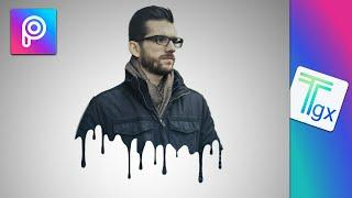 How to make Dripping Effect | PicsArt Photo Editing