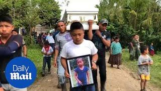 Funeral for 7-year-old Guatemalan girl that died in US custody