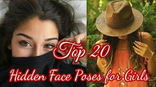 Best Poses without Face for Profile Picture || Top 20 Posing Ideas For Hidden Face