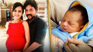 VJ Anjana, Chandran Blessed with a Baby Boy | Hot Tamil Cinema News