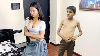 Young boy Bhabhi romance   Sexy Bhabhi Hot romance   Sexy video Hot Short  film