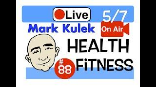Mark Kulek Live Stream Lesson - Health and Fitness | #88 - English Communication - ESL