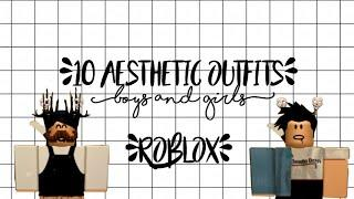 10 aesthetic outfits for boys and girls!