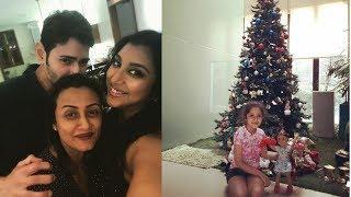 Mahesh Babu son & Daughter Christmas Celebrations with Family Latest Photos