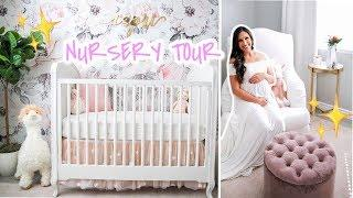 MY BABY GIRL'S NURSERY TOUR I FINALLY FINISHED & YOU WONT BELIEVE!