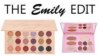 MAKEUP REVOLUTION The Emily Edit: Live Swatches & Review