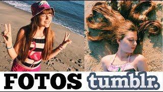 Como fazer fotos tumblr NA PRAIA! | Hi Girls Sisters
