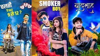 Photo Editing With Hot Girl | PicsArt Best Editing 2019 | Smoker Boy Editing in PicsArt