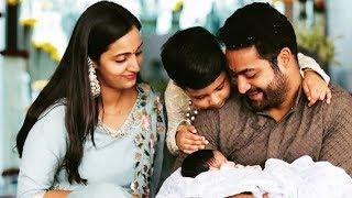 Jr NTR Family Photos |,Jr NTR With Wife Lakshmi Pranathi  Lovely Kids Photos