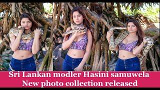 Sri Lankan modeler Hansi Samuwel New beach photo collection released