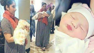 Sania Mirza with her new born baby boy Izhaan | Inside pics