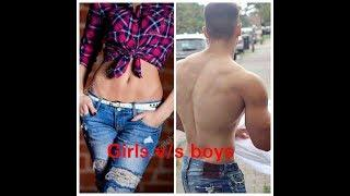 Girls v/s boys funny  HD