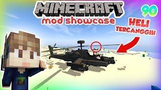 10 HELIKOPTER SUPER CANGGIH DI MINECRAFT MINECRAFT MOD SHOWCASE INDONESIA