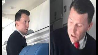 Flight attendant forces sick old woman to leave seat.Seconds later stranger realize what's happening
