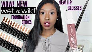New Wet N' Wild 2019 Makeup Collection | NEW Photo Focus Foundation Stick & Liquid Lipsticks for WOC