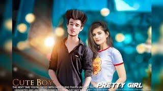 BOY WITH GIRL ATTITUDE || BEST COUPLE PHOTO EDITING || PICSART BEST PHOTO EDITING TUTORIAL