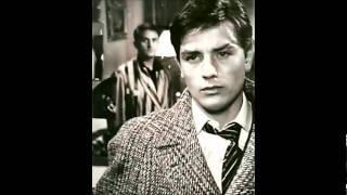 Alain Delon - photo collection I (mon_amour_je_viens_de_mout_du_monde, Julie-沢田研二 ) with lyrics