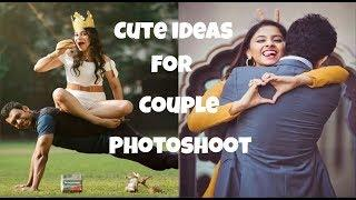Cute photoshoot ideas for couples || Unique photoshoot ideas for couple || Couple photoshoot