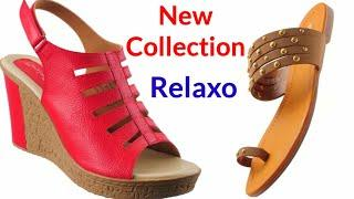 RELAXO LATEST CASUAL SANDALS COLLECTION 2019 :- CHAPPALS/DESIGN/SLIPPERS PHOTO FOR LADIES