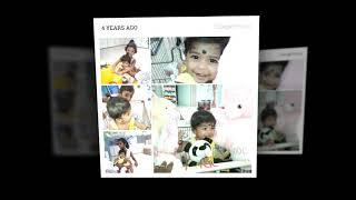 Dhaya birthday special video with her photo collection