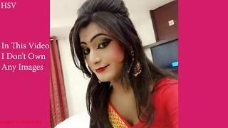 Indian Crossdresser Into Saree | Boy Into Girl
