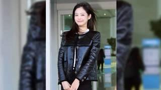 Jennie BLACKPINK was seen at the Incheon International Airport Terminal 2 for her departure to Paris
