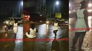 Girl Run MAD After Yahoo Boys Use Her For Money Ritual In Lagos Nigeria
