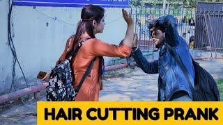 Cutting Girls Hair  Prank !! Prank in India || Prank Wala
