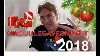 MINE JULEGAVEØNSKER 2018