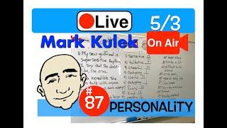 Mark Kulek Live Stream Lesson - Talking About Personalities | #87 - English Communication - ESL