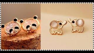 Beautiful Collection Of Animal Earrings Design || Earrings Design