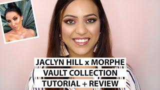 JACLYN HILL X MORPHE VAULT COLLECTION | Tutorial & Review