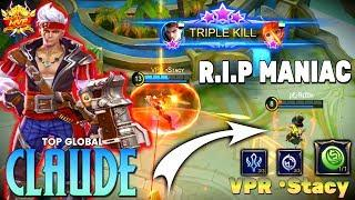 New Skin Claude Gameplay | Claude Plunderous Pirate | Top Global Claude | Claude Gameplay & Build