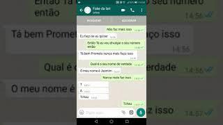 Fake da Larissa Manoela confessa que é fake Manda foto do seu cocô