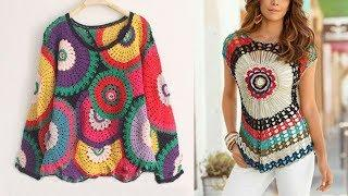 Beautiful Woolen Top Design Images / Photos Collection | New Stylish Top Design Pictures