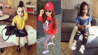Modern Little Girls Dresses || Baby Girl Dresses || Western Dress For Girls || jean top for kids
