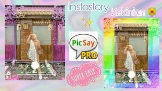 Edit Foto Frame Instagram Lagi Viral | Picsay Pro Tutorial
