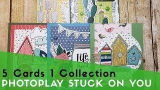 5 Cards 1 Collections | Photo Play Stuck on You