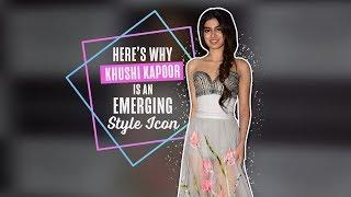Here's Why Khushi Kapoor is an Emerging Style Icon | Bollywood