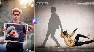 Picsart Shadow photo editing | Instagram viral photo editing 2019 | Creative editing 2019 | picsart