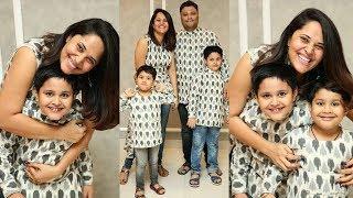 Anchor Anasuya Bhardwaj family latest photos | Anasuya | Gup Chup Masthi